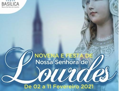 Novena e Festa de Nossa Senhora de Lourdes